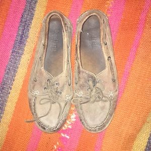 Bed Stu used leather boat shoes